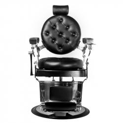 Barberarstol GABBIANO IMPERATOR svart