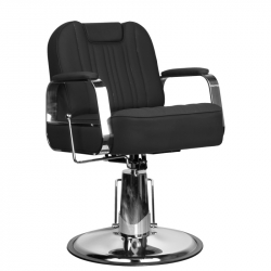 Frisörstol / Barberarstol GABBIANO RUFO svart