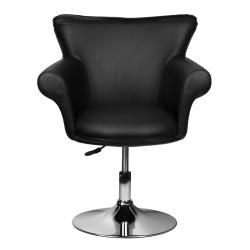 Frisörstol / fåtölj GRACE svart