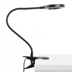 Arbetslampa / bordslampa SNAKE LED svart