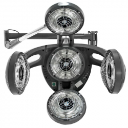 Climazon GABBIANO GD-505W grå väggmodell