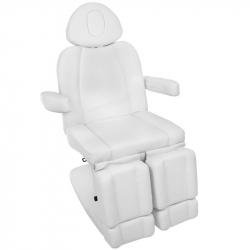 Elektrisk fotvårdsstol / behandlingsbänk AZZURRO 708AS PEDI 3-motor vit