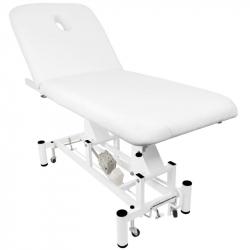 Elektrisk behandlingssäng / massagebänk AZZURRO 684 1-motor vit