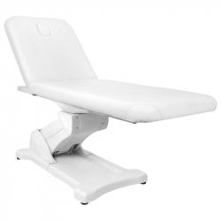 Elektrisk behandlingssäng / massagebänk AZZURRO 808 vit 2-motor