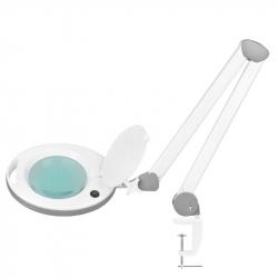 Förstoringslampa / arbetslampa 6014 60 LED vit med bordsfäste