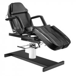 Fotvårdsstol / behandlingsbänk svart A 210C PEDI