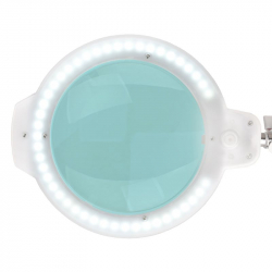 Förstoringslampa / arbetslampa LED MOONLIGHT 8012/6 vit med stativ