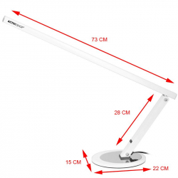 Arbetslampa / bordslampa SLIM LED vit
