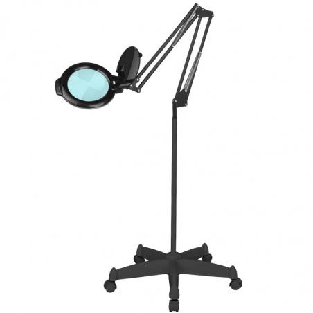 Förstoringslampa / arbetslampa LED MOONLIGHT 8012/6 svart med stativ
