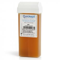 Vax patron / kassett QUICKEPIL Honung 110 g för paraffinvärmare Roll On