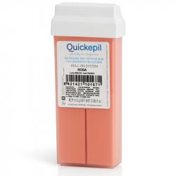 Vax patron / kassett QUICKEPIL ros 110 g för paraffinvärmare Roll On