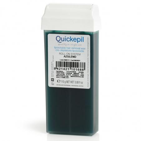 Vax patron / kassett QUICKEPIL Azulen 110 g för paraffinvärmare Roll On