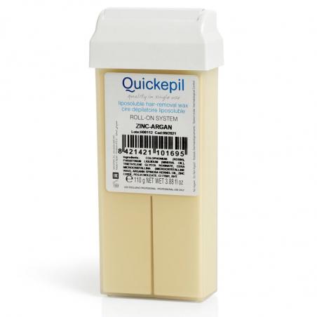 Vax patron / kassett QUICKEPIL zink-argan 110 g för paraffinvärmare Roll On