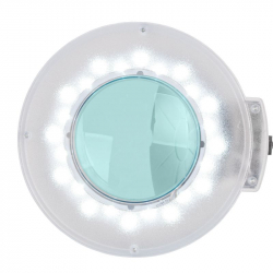 Förstoringslampa / bordslampa S5 LED vit