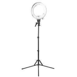 Ringlampa / arbetslampa 12 tum med stativ