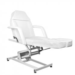 Elektrisk fotvårdsstol / behandlingsbänk vit AZZURRO 673AS PEDI 1-motor