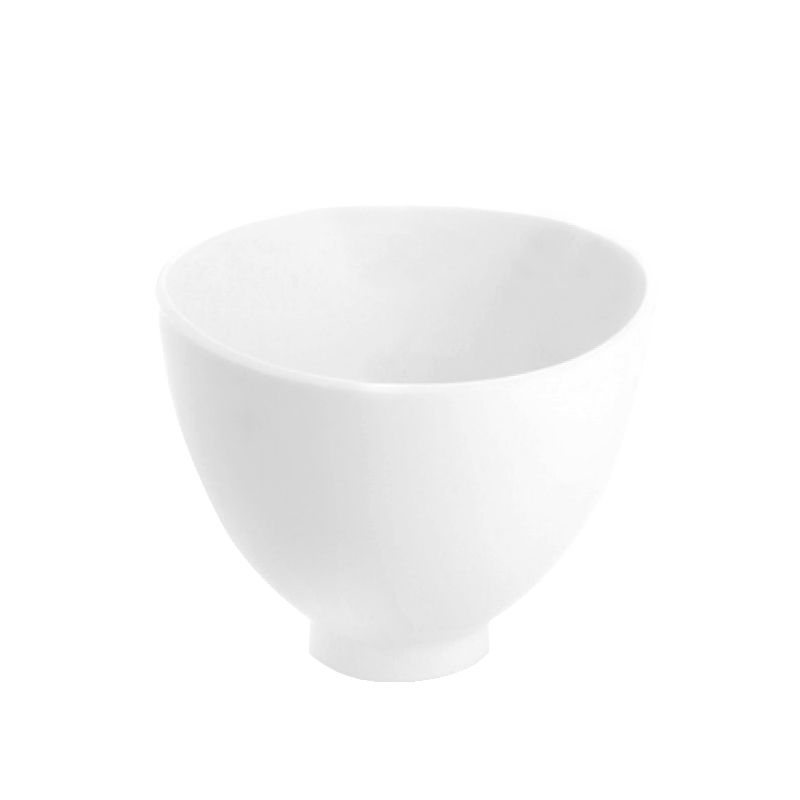Silikonskål vit XS diameter 10,5 cm
