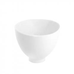 Silikonskål vit XXS diameter 8,5 cm
