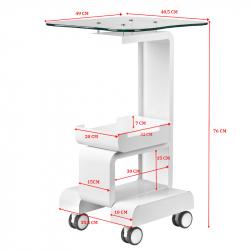 Rullvagn 082 för kosmetisk enhet / utrustning
