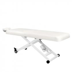 Behandlingssäng / massagebänk AZZURRO 336 vit, 1-motor