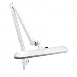 Arbetslampa / bordslampa ELEGANTE 801-L LED vit med stativ