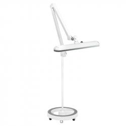 Arbetslampa / bordslampa ELEGANTE 801-S LED vit med stativ