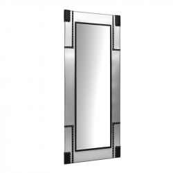 Frisörspegel / arbetsplats GABBIANO B078 aluminium