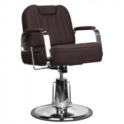 Frisörstol / Barberarstol GABBIANO RUFO brun