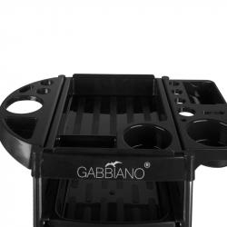 Frisörvagn GABBIANO FX11-2 svart