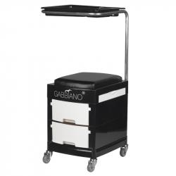 Rullvagn / sittpall GABBIANO 16 PLUS svart/vit