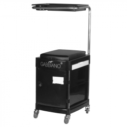Rullvagn / sittpall 23 PLUS svart