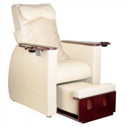 Elektrisk pedikyrstol AZZURRO 101 med benstöd och massage beige