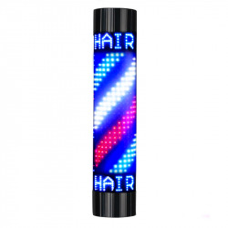 BARBERSHOP Pole LED-lampa 85 x 19 cm