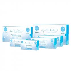 Steriliseringspåsar för autoklav ALL4MED 135mm x 250mm 200st
