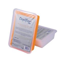 Paraffin för behandling DEPILFLAX med apelsin- och persikadoft 500g
