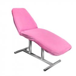 Överdrag / sängskydd i frotté NR.10 till behandlingssängar rosa