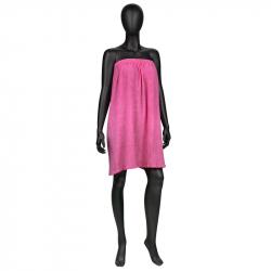 Badskynke / omlotthandduk i frotté NR 10 rosa