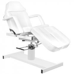 Fotvårdsstol / behandlingsbänk vit A 210C PEDI