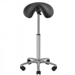Sadelstol 001B hög svart
