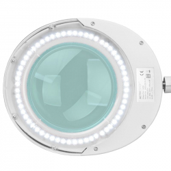 Förstoringslampa / bordslampa ELEGANTE 6025 LED vit