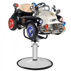 Frisörstol GABBIANO B082 retro polisbil för barn