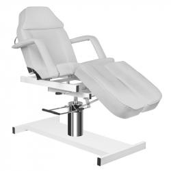 Fotvårdsstol / behandlingsbänk grå A 210 C PEDI