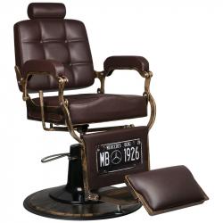 Barberarstol GABBIANO BOSS brun