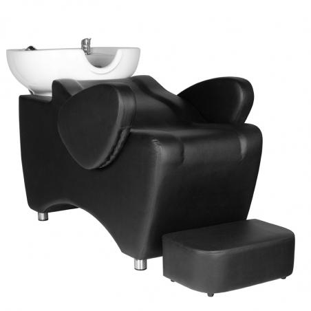 Schamponeringsstol HAIR SYSTEM HSB46 svart