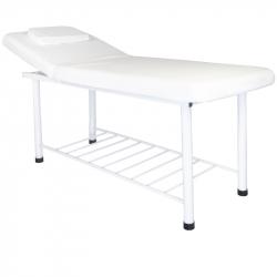 Behandlingssäng / massagebänk 812 BASIC vit