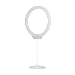 Ringlampa / LED arbetslampa 10 W / 10 tum med stativ