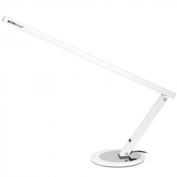 Elektrisk nagelfil / fotfil PRO JD700 vit + arbetslampa / bordslampa SLIM 20W vit