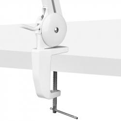 Förstoringslampa / bordslampa ECO LED vit
