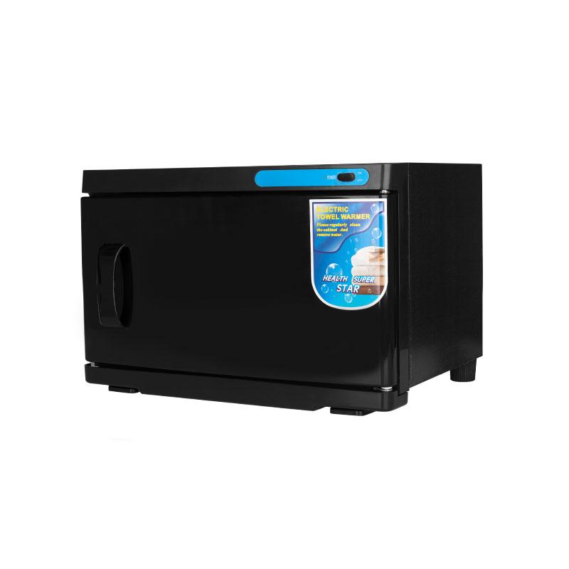 Handduksvärmare med UV-C sterilisator 16L svart
