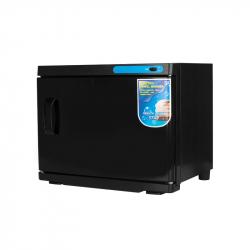 Handduksvärmare med UV-sterilisator 23L svart